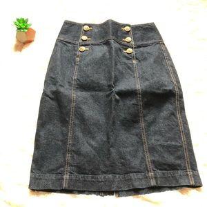 Ralph Lauren Lauren Jeans Skirt NWOT